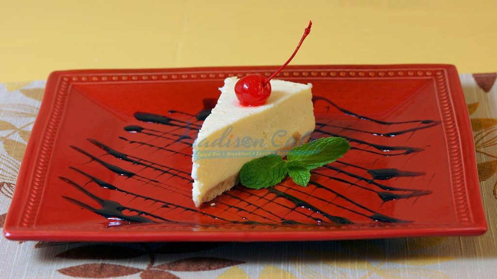 new york cheese cake at madison cafe